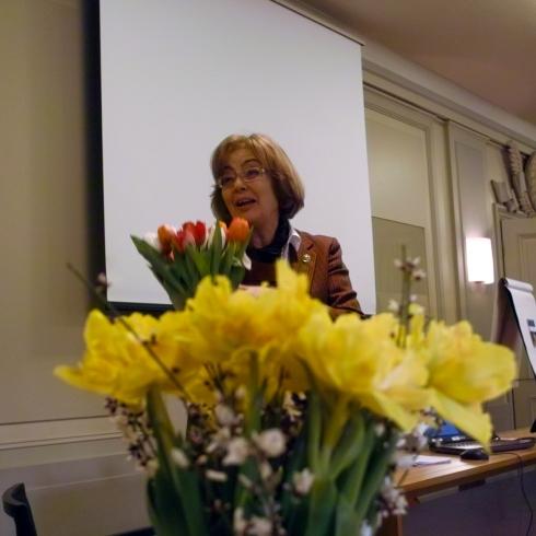 Museikoorinatorn Christina Von Arbin tackades för hennes insats i att bryta väg för projektet och skapat goda genomförandebetingelser.